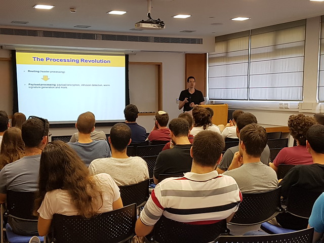 28.06.2017 4th event of 2016/2017-Enrichment lecture by Prof. Issac Keslassy