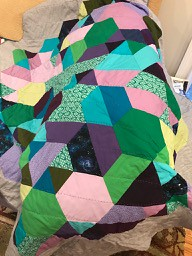 Weight of Love quilt