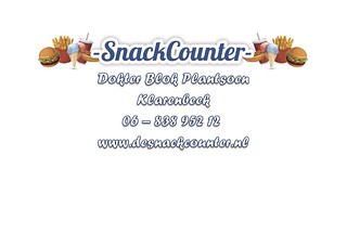 Snackcounter