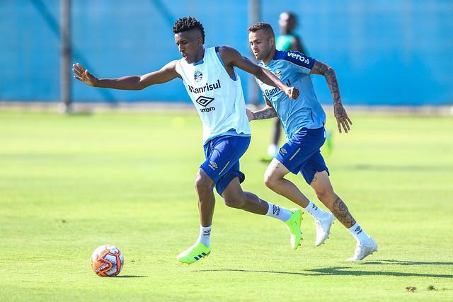 Treino Grêmio 08/02/19