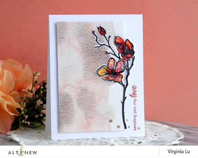 Altenew-DottedBloomsStampsDie-Virginia#2