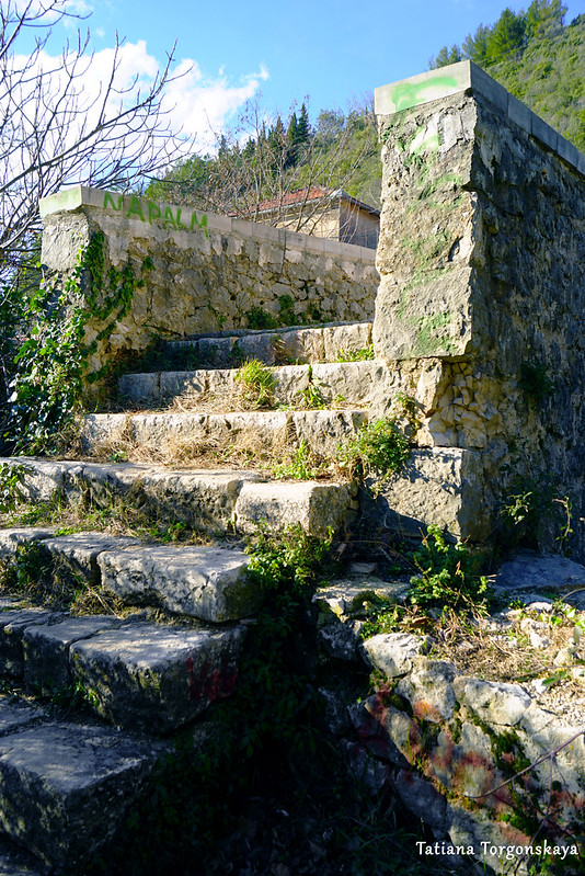 Лестница у моста Сары Кашикович