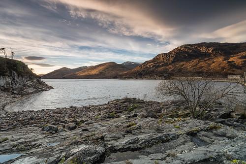 At Loch Mullardoch ..