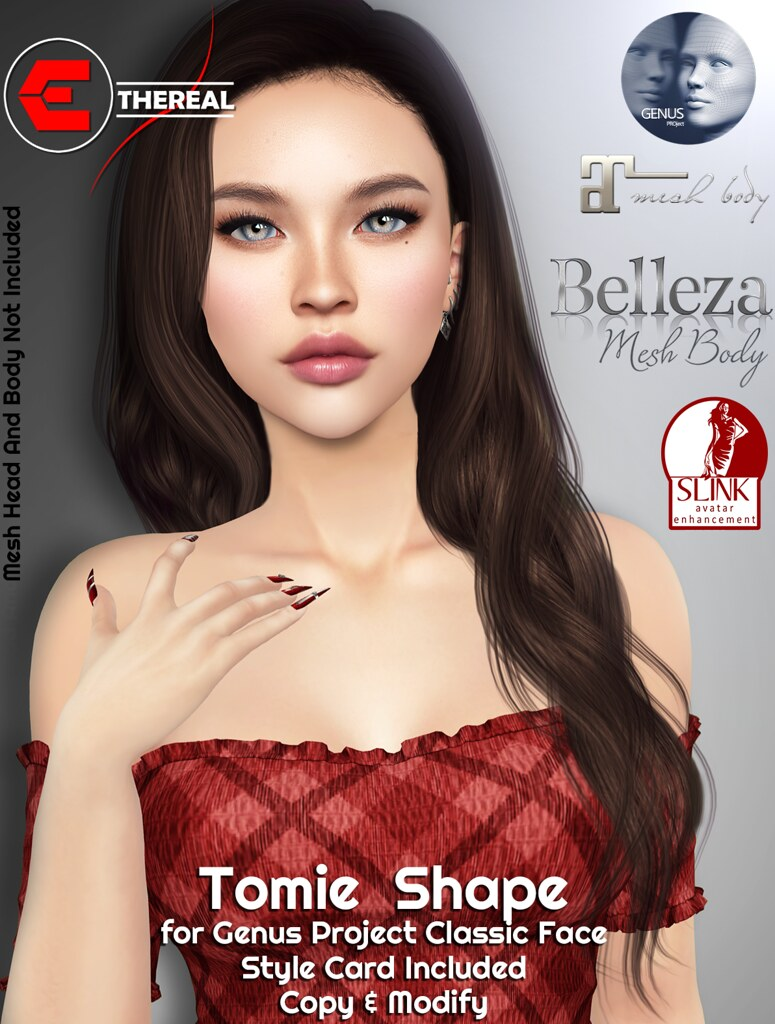 Tomie Shape For G.Project Classic Face - TeleportHub.com Live!