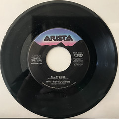 WHITNEY HOUSTON:SAVING MY ALL LOVE FOR YOU(RECORD SIDE-B)