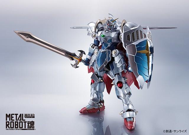 METAL ROBOT魂 《SD鋼彈外傳 拉克羅亞的勇者》「騎士鋼彈 拉克羅亞的勇者版本」情報公開!騎士ガンダム~ラクロアの勇者~