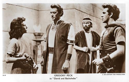 Gregory Peck in David and Bathsheba (1951)