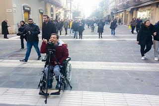 Noicattaro. disabilità front