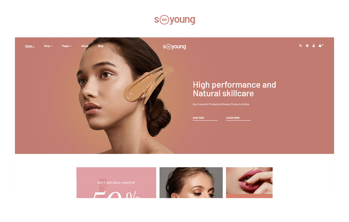 Leo Sooyoung - Cosmetics and Beauty Prestashop Theme