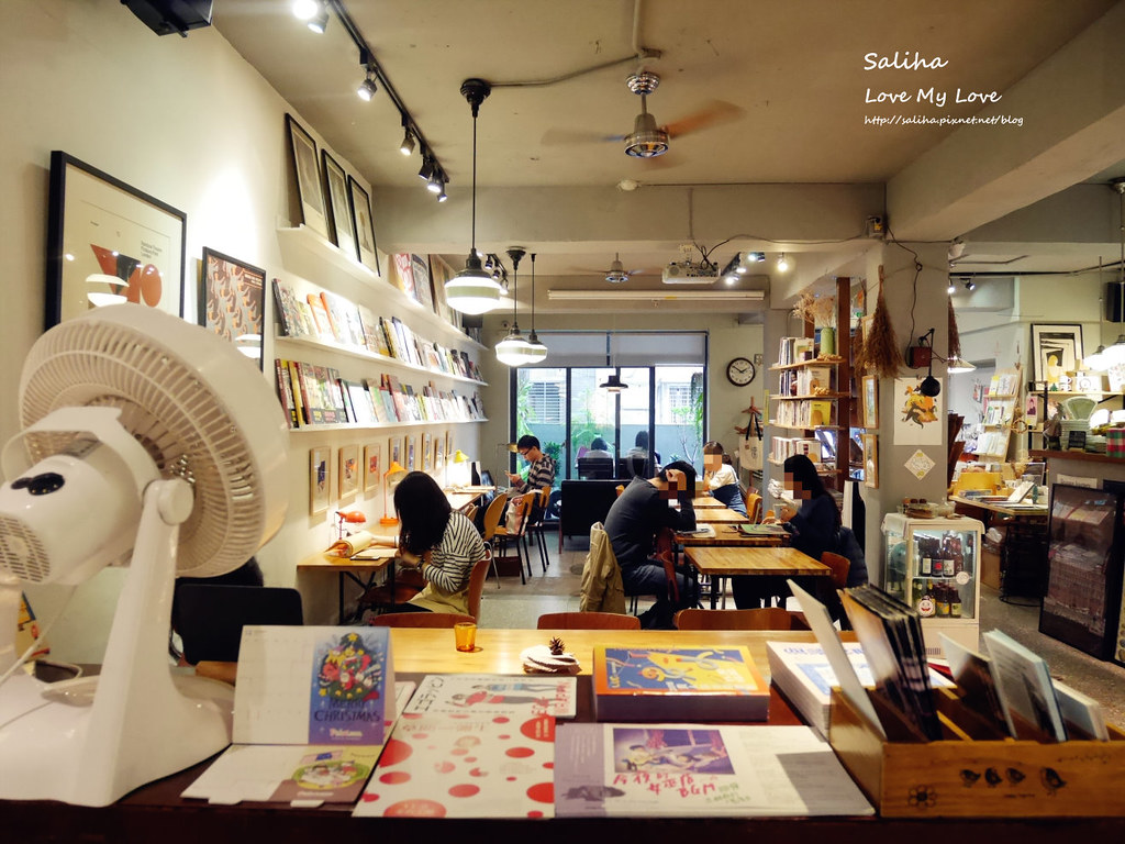 台北中正紀念堂古亭站附近不限時文青風閱讀看書繪本咖啡廳生活在他方 (3)