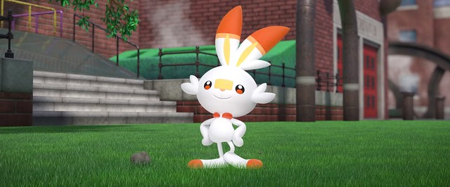 Pokemon Sword Shield - Scorbunny