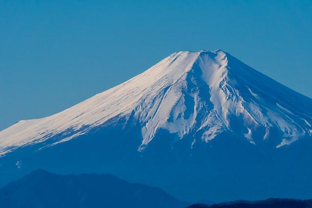 富士山クローズアップ@大岳山