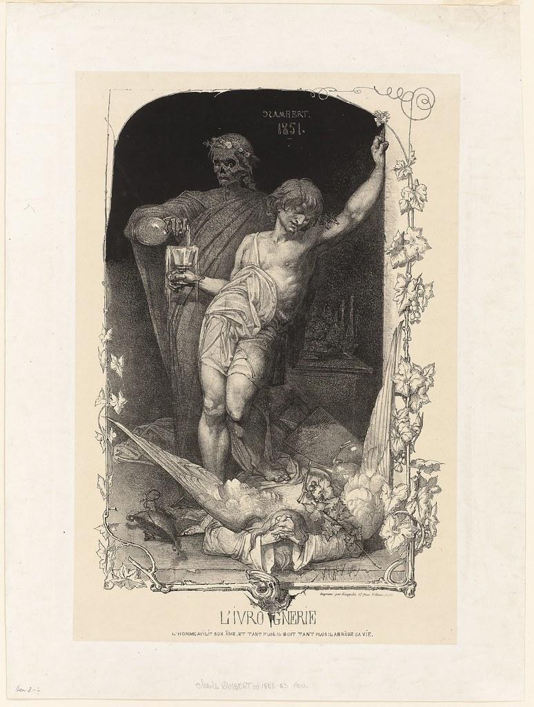 Charles Rambert - Drunkenness, 1851