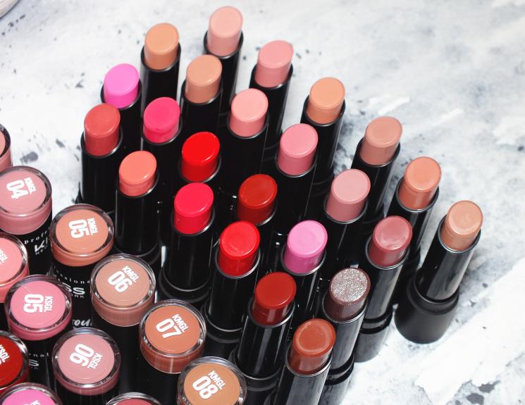 kiss amorous matte & luscious shine gel lipstick (2)