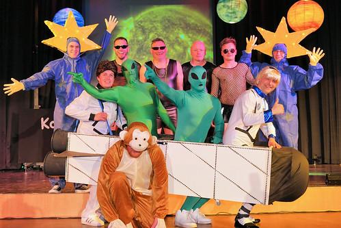Kometen, Kosmos, Karneval - die OCV hebt ab ins All