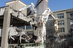Viaduct demolition derby