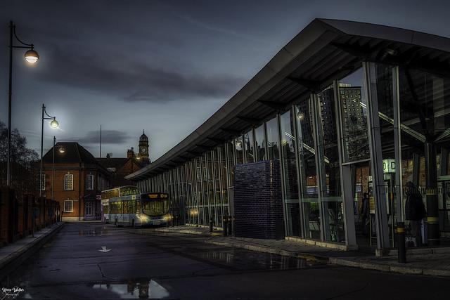 Eccles Bus Station