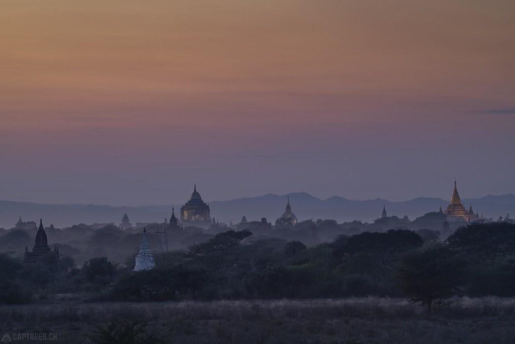 Dusk - Bagan