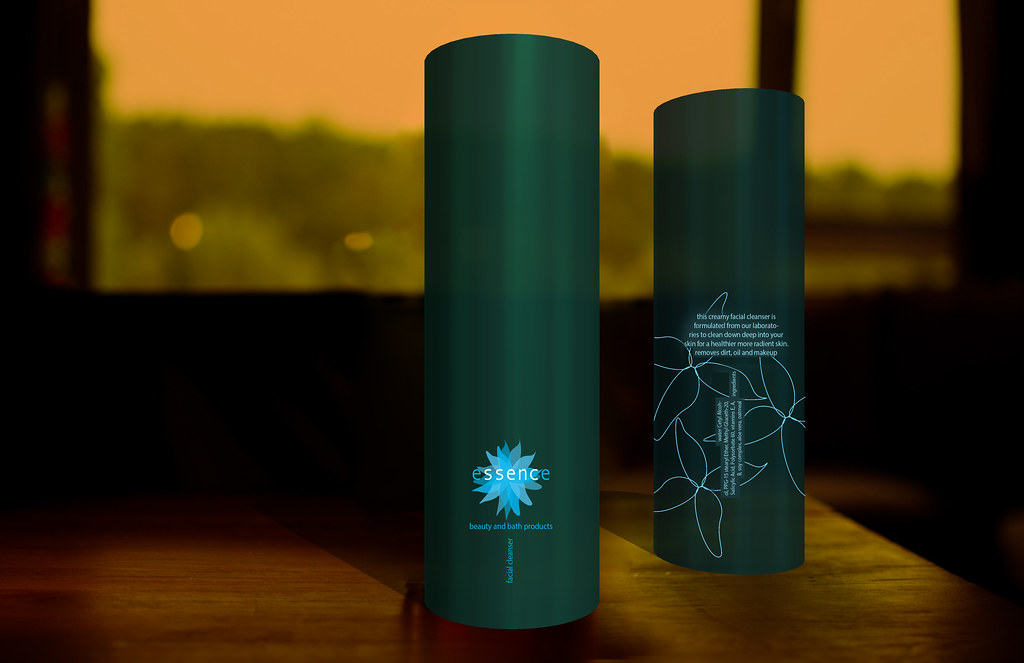 Essence_Brand, Identity Packaging, Rebecca Pons, BECCA, BECCA Studio, Logo, 3 D model design,
