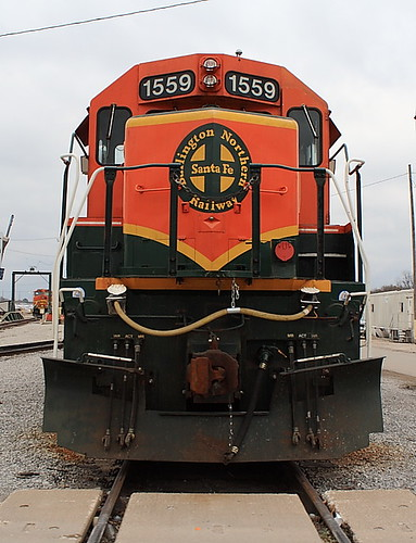 BNSF 1559 (SD40-2) East Thomas Yard Birmingham, Alabama