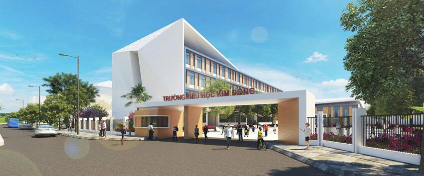 Trường học Kim Đồng quận 7.