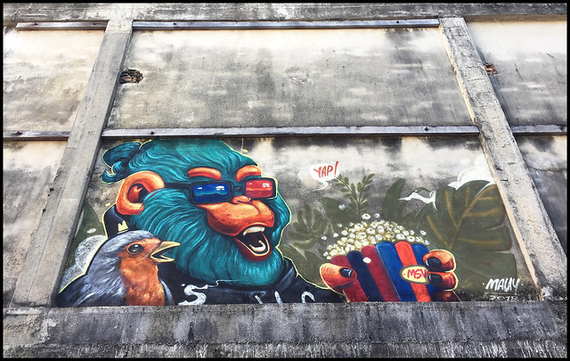 Graffiti or Art in Phuket town