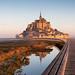 Mont Saint-Michel Sunrise by VR Photographies