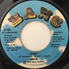 BRICK:DUSIC(LABEL SIDE-A)