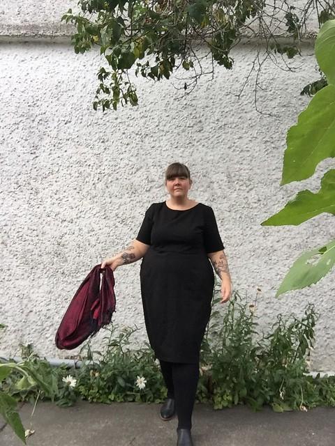 Cashmerette Rivermont Dress Black 4