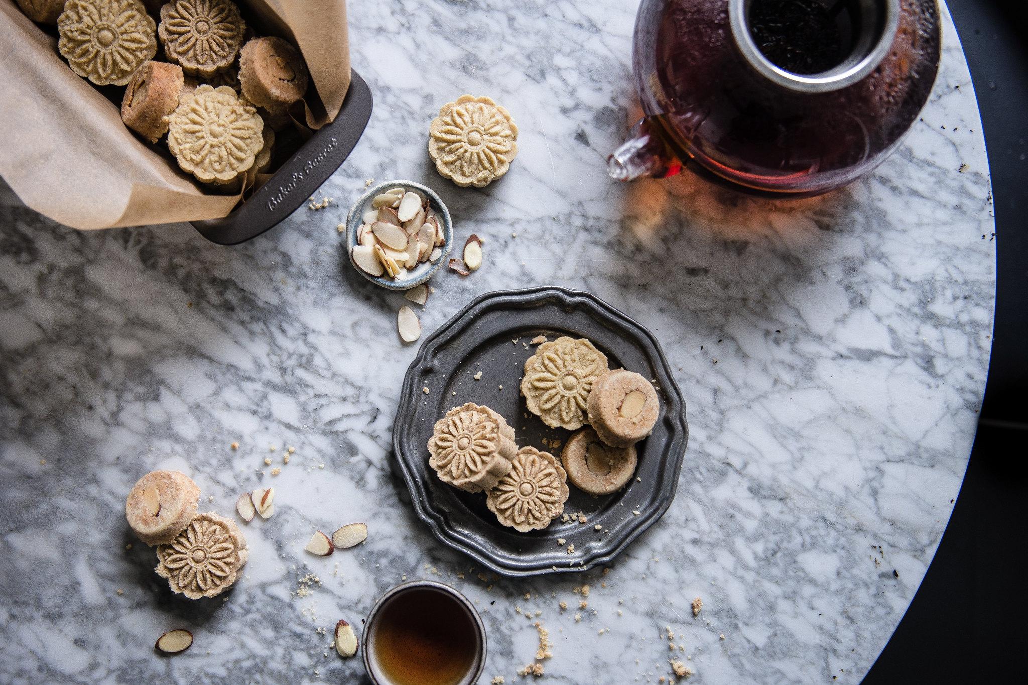 macau-style almond cookies