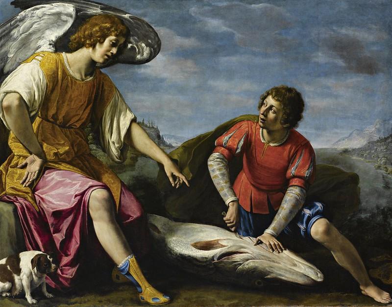 Filippo Tarchiani - Tobia e l'Angelo