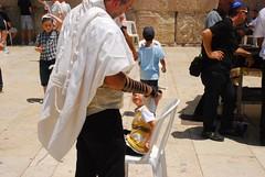 Israel. Jerusalén.  Muro de las lamentaciones (21)
