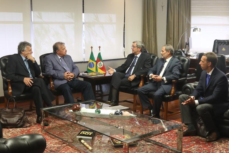 Reunião de negócios RS-Chile