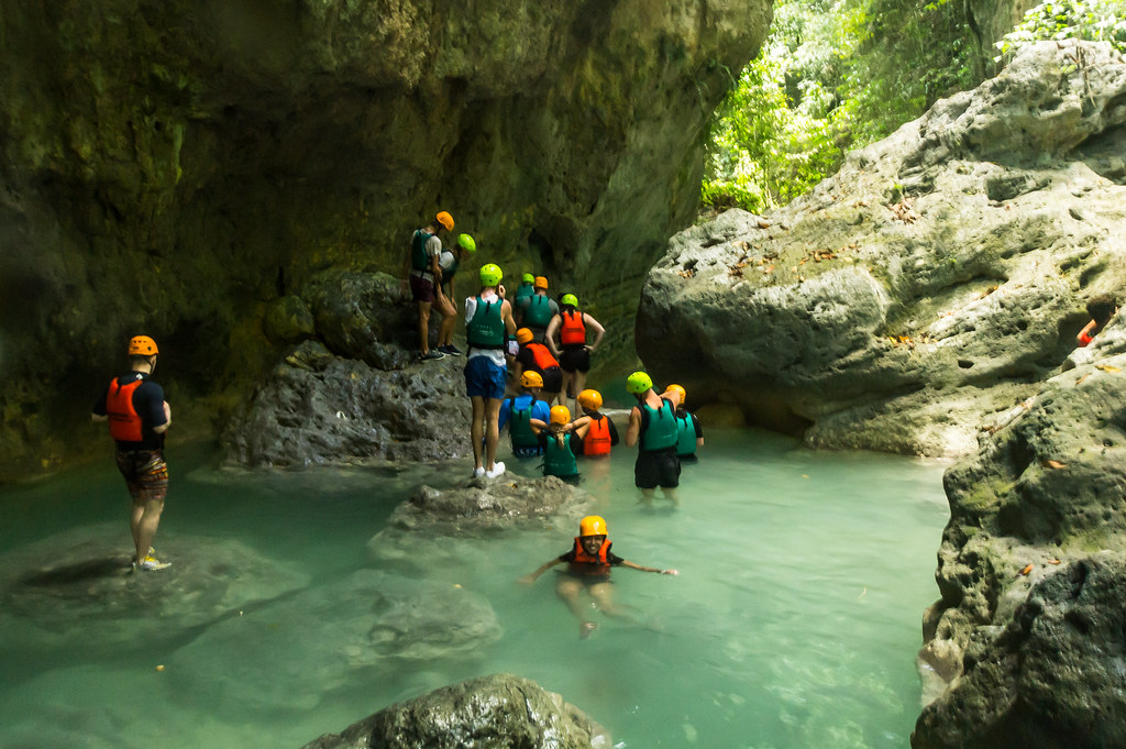 Canyoneering in Malboal