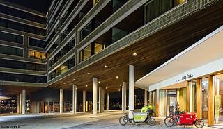 Amsterdam : Pontsteiger building.