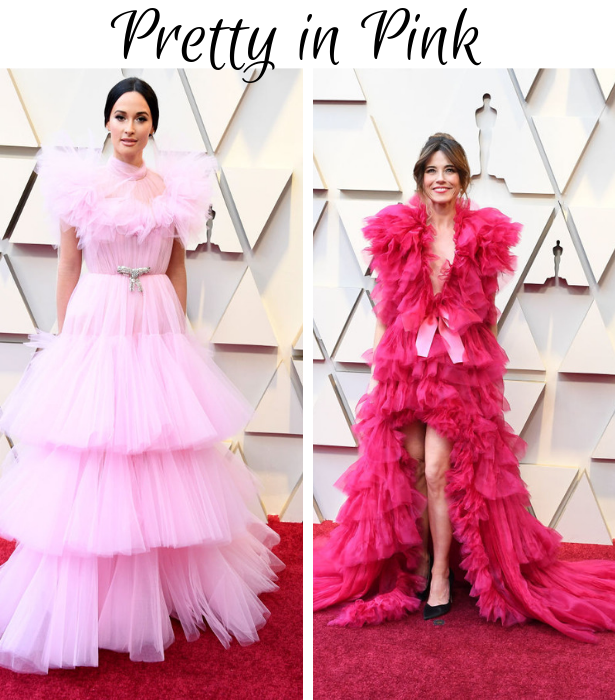 Oscars 2019 Pretty in Pink 1