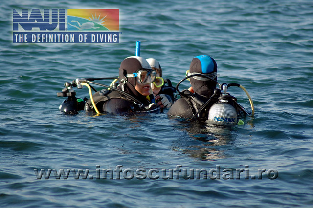 Tabara de scufundari pentru copii - Eforie Sud 2015