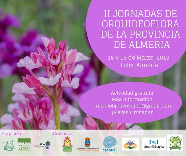 II Jornadas de Orquideoflora de la provincia de Almería