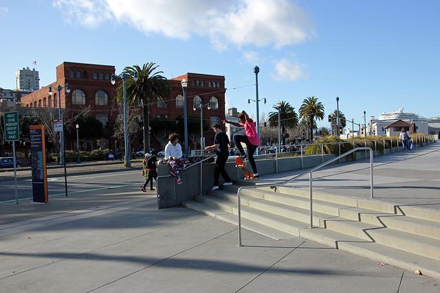 Skateboarding in San Francisco II