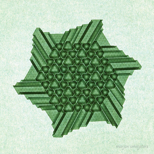 Hexagon love (Marjan Smeijsters)