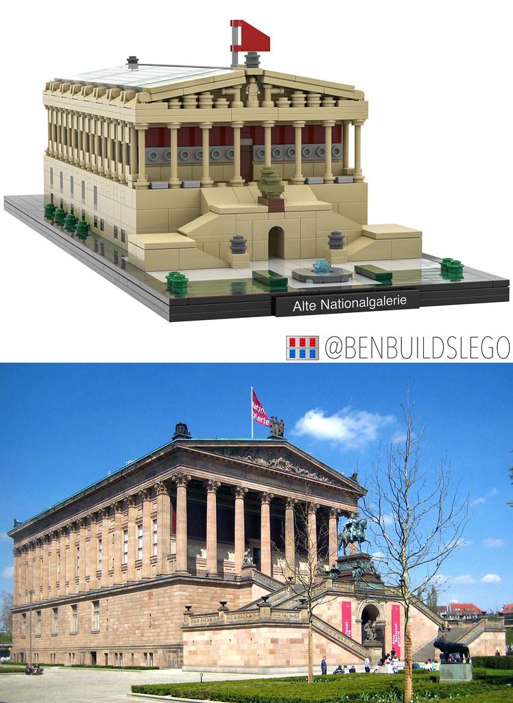 Berlin's Alte Nationalgalerie Lego MOC