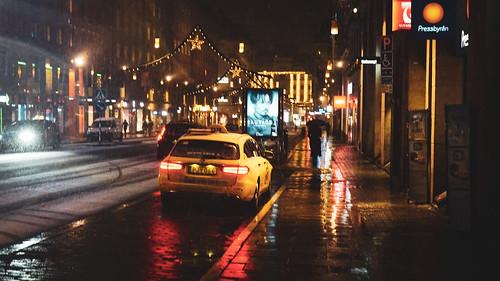 Rainy December night