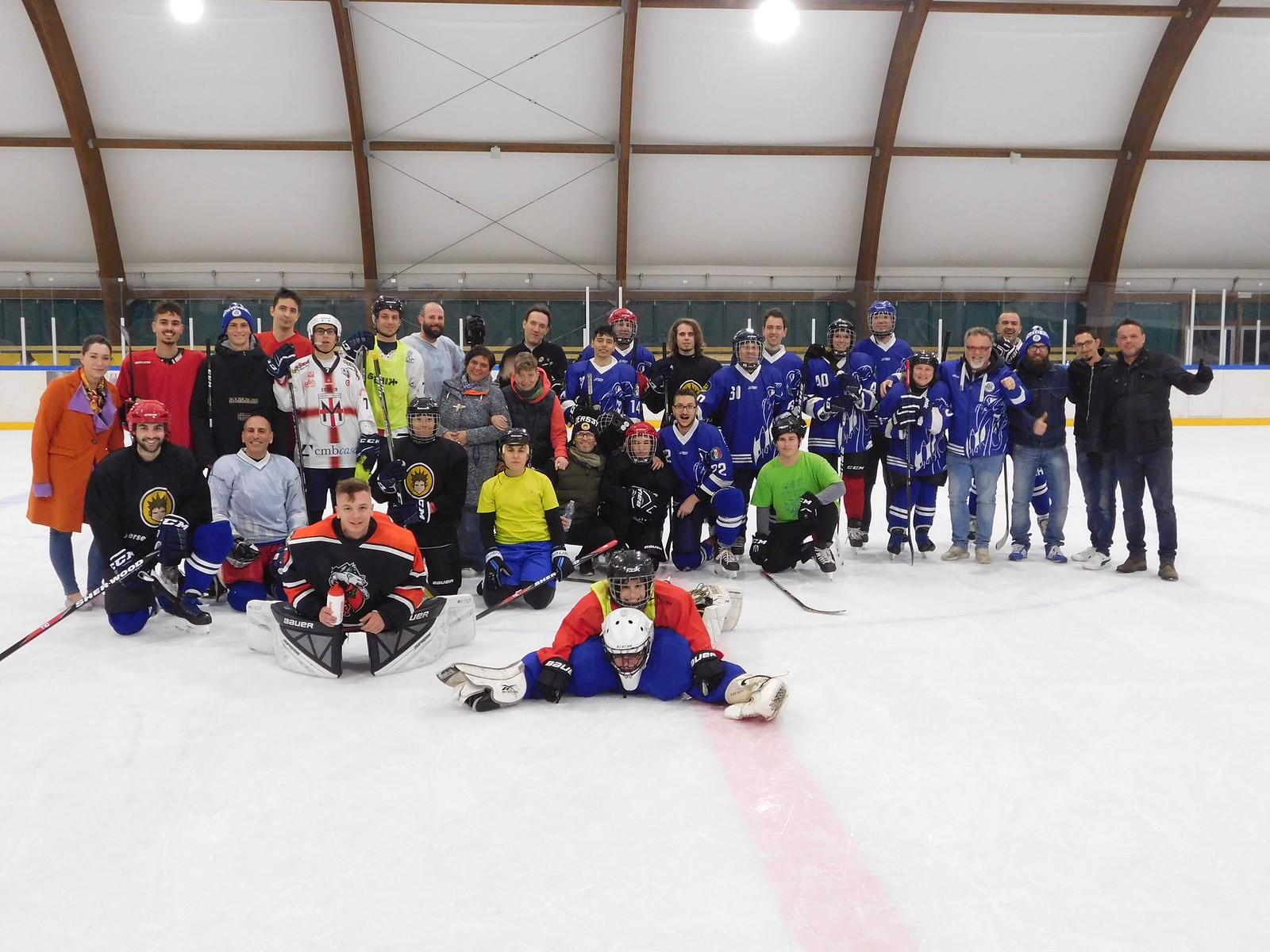 Fighters Vs Hockey Academy