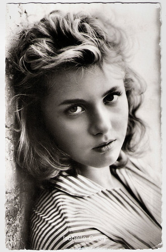 Isabelle Corey in La ragazza della salina (1957)