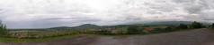 20080515 23072 0905 Jakobus Montverdun Weite Hügel Wolken Ortschaften_P01