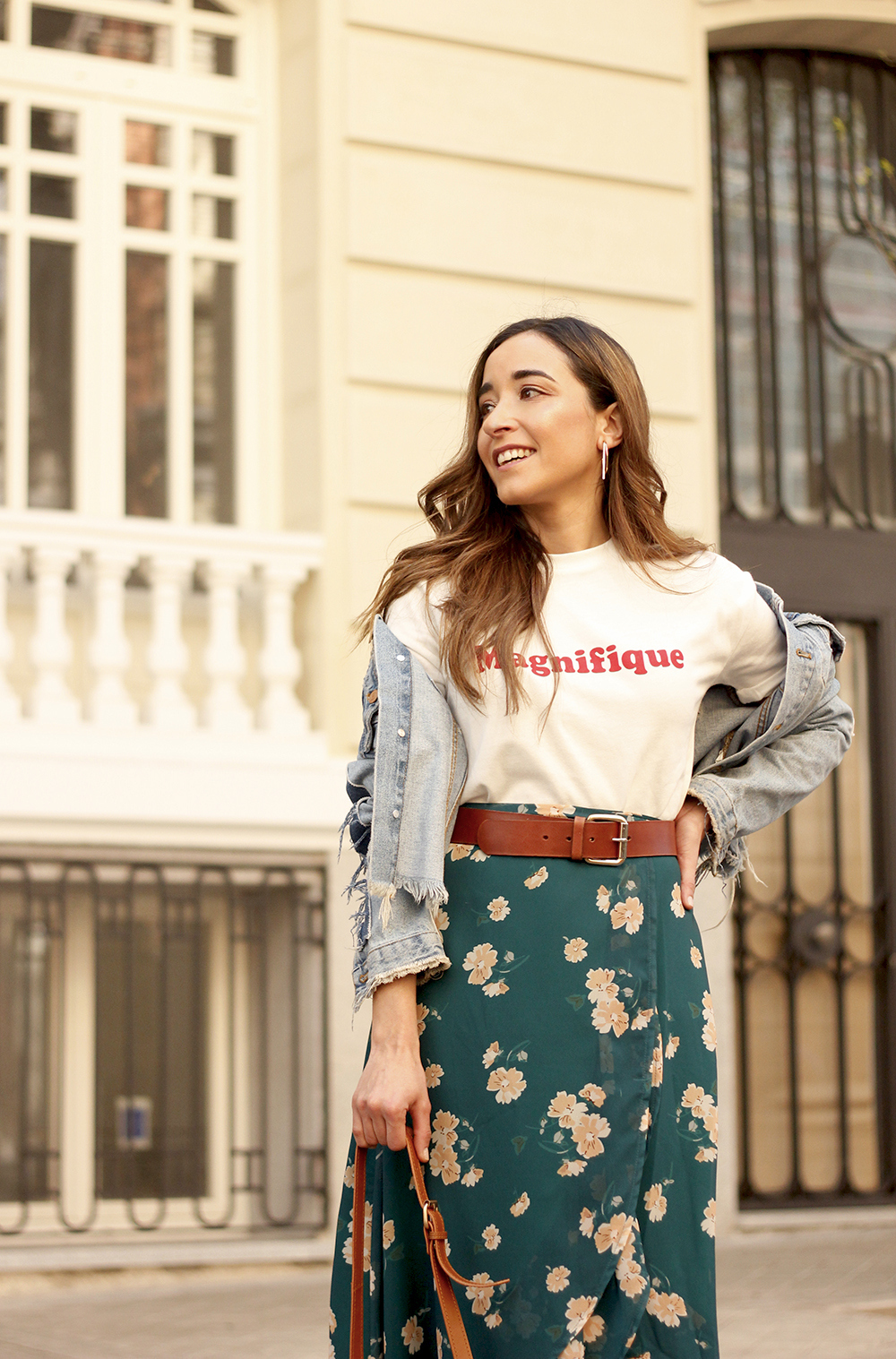 floral maxi converse skirt tshirt find amazon fashion street style outfit 20197