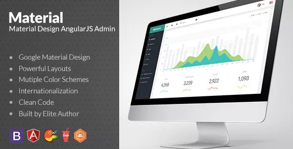 Material v1.5.0 - Design Admin with AngularJS
