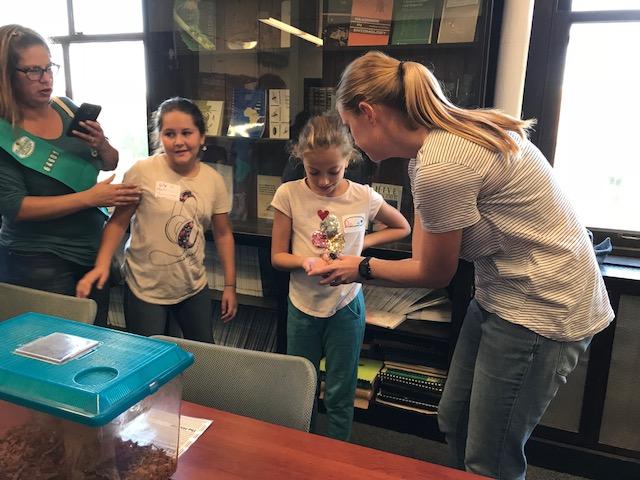 Girl Scouts Animal Habitat Badge Event 2018