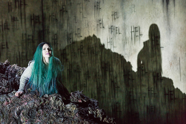 Marta Fontanals-Simmons as Hel in The Monstrous Child, The Royal Opera © 2019 ROH. Photograph by Stephen Cummiskey