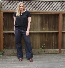 Lander jeans_woven tee_2